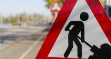 Lavori stradali in corso