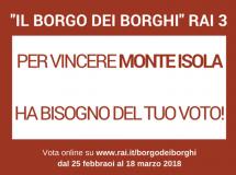 """Vota Monte Isola a """"Il borgo dei borghi"""""""