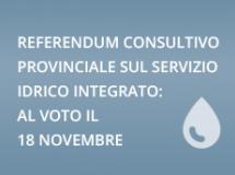 Referendum consultivo: 18 Novembre