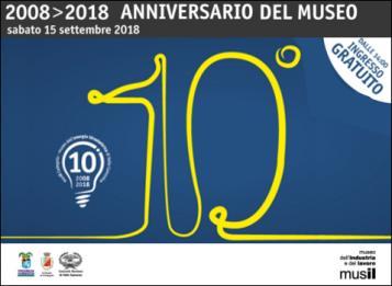2008>2018 Anniversario del musil di Cedegolo