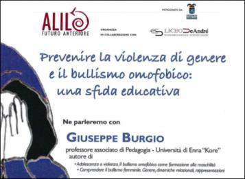 Prevenire la violenza di genere e il bullismo omo-transfobico: Una sfida educativa