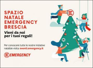 Spazio Natale Emergency - Brescia