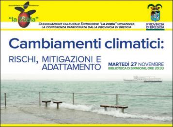 Cambiamenti climatici: rischi, mitigazioni e adattamento