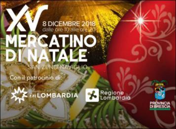 Mercatino di Natale di San Zeno Naviglio 2018