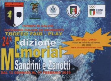 Torneo Fair-Play Memorial Sandrini e Zanotti