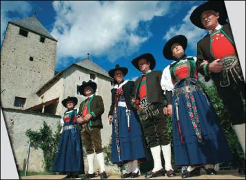 Miti e parole ladine delle Dolomiti