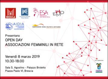 Open Day - Associazioni Femminili in Rete