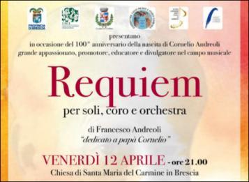 Messa da Requiem, per coro e orchestra