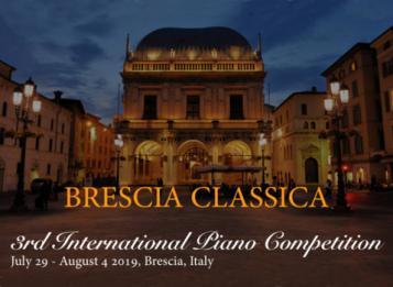 Brescia Classica 3rd International Piano Competition