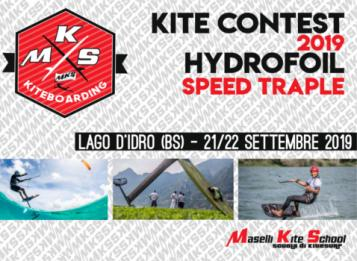 Kite Contest 2019 - Hydrofoil Speed Traple