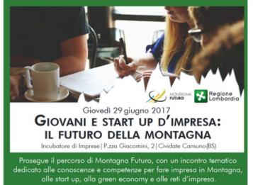 Giovani e start up d'impresa: il futuro della montagna