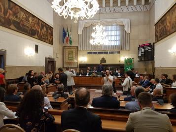 A Palazzo Broletto la Giunta della Regione Lombardia