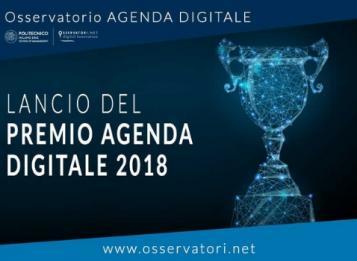 LA PROVINCIA FINALISTA AL PREMIO AGENDA DIGITALE 2018