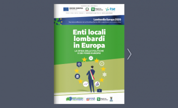 Pubblicazione Enti Locali Lombardi in Europa - Progetto Lombardia Europa 2020