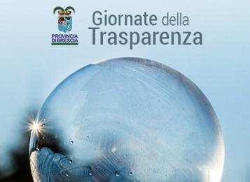 E' on line il portale delle Giornate della Trasparenza della Provincia di Brescia