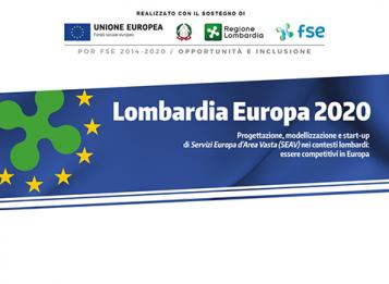 """Primo Webinar """"Regione Lombardia e i fondi europei"""" nell'ambito del progetto Lombardia Europa 2020"""