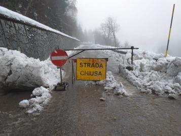"""Sospensione della circolazione sulla SPBS 345 """"Delle Tre Valli"""", nel territorio comunale di Collio"""