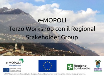 e-MOPOLI: Terzo Workshop con il Regional Stakeholder Group