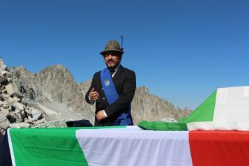 Festa della Liberazione: Il Presidente della Provincia di Brescia in visita al Comune di Caino
