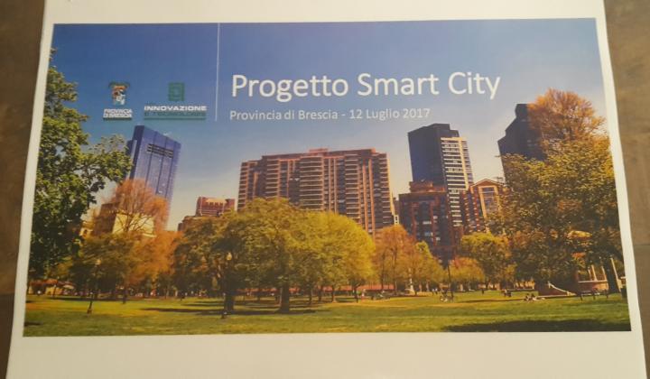 Progetto provinciale Smart City: incontro di presentazione con A2A