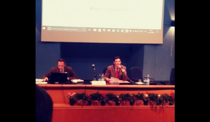 Dottor Marco Toccoli della Segreteria Generale della Provincia di Brescia