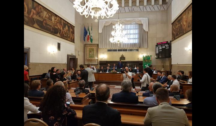 A Palazzo Broletto la Giunta di Regione Lombardia