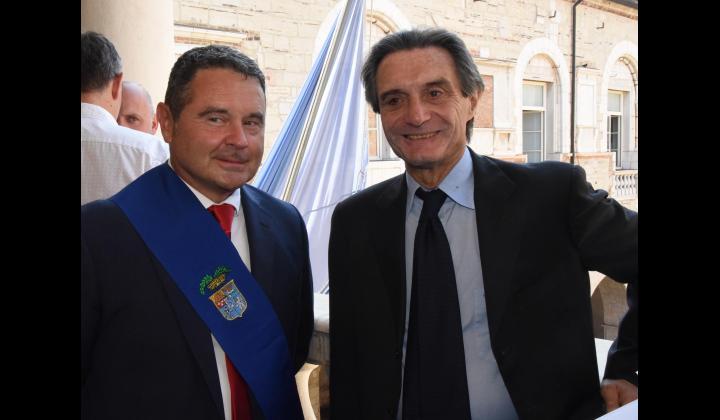 Il Presidente della Provincia di Brescia Mottinelli incontra il Presidente della Regione Lombardia Fontana