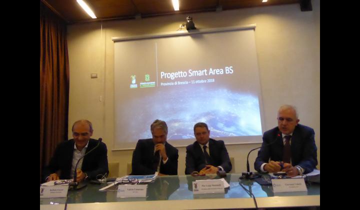 """Provincia di Brescia e A2A:  al via la """"SMART AREA BS"""""""