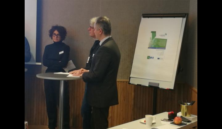 Sabrina Medaglia, responsabile dell'Ufficio Europa della Provincia di Brescia