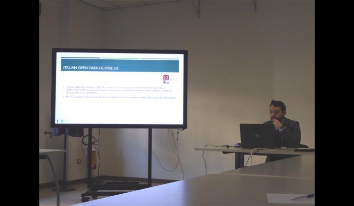 Intervento di Federico Gritti - Centro Innovazione e Tecnologie (CIT) della Provincia di Brescia