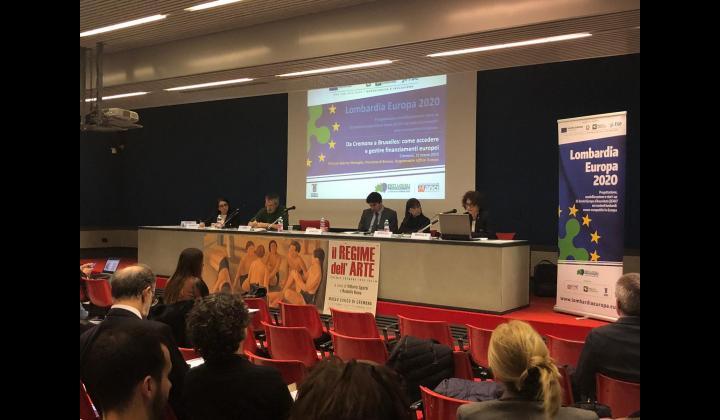 Lombardia Europa 2020: evento informativo a Cremona