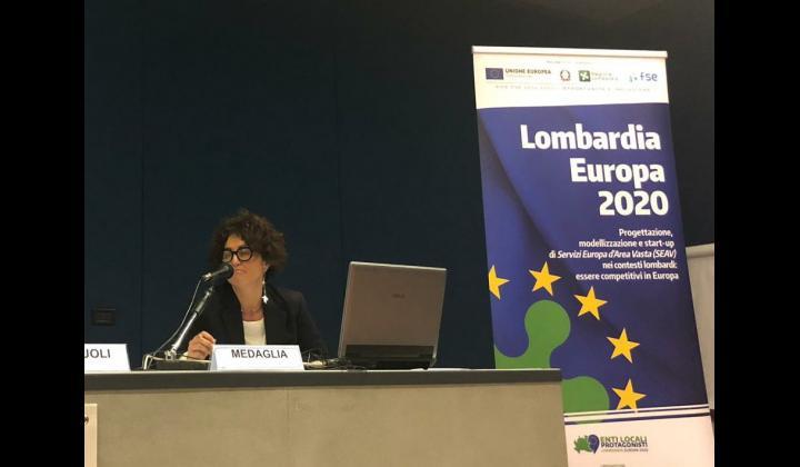Intervento di Sabrina Medaglia - Responsabile dell'Ufficio Europa e Statistica della Provincia di Brescia