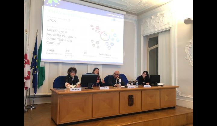 Dottoressa Sabrina Medaglia, responsabile dell'Ufficio Europa