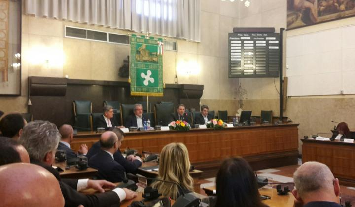 Brescia: incontro tra il Presidente Maroni e il Presidente Mottinelli