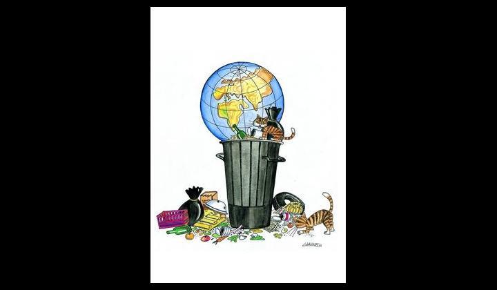 Giannelli - Mondo tra i rifiuti