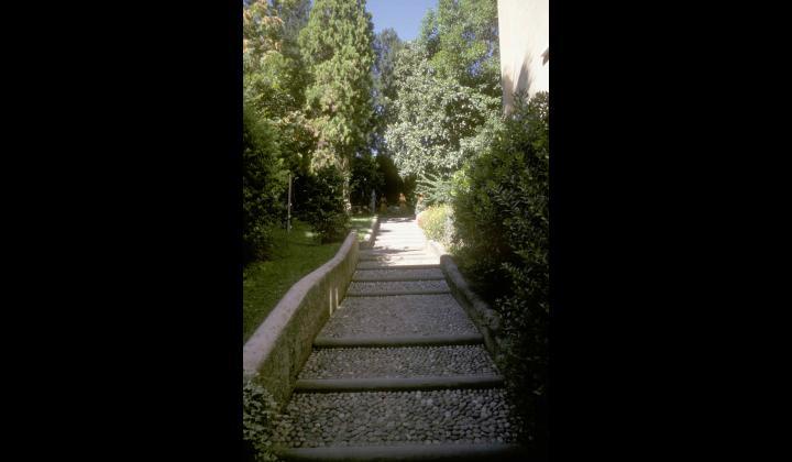 Ingresso del percorso archeologico di Palazzo Martinengo