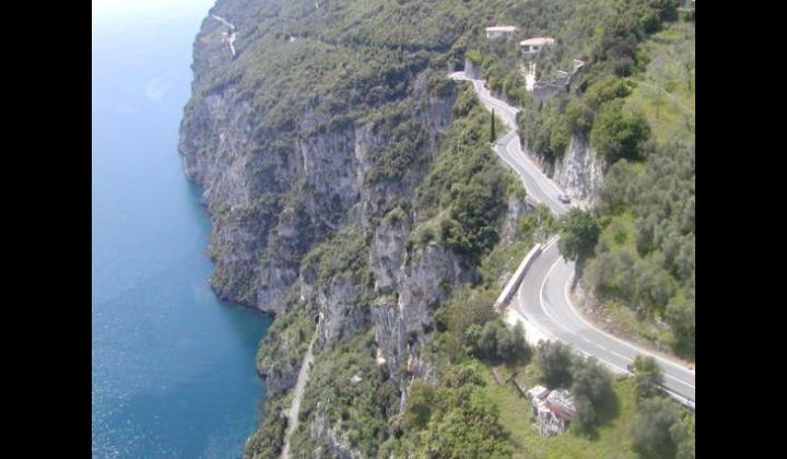 SP 38 (Tignale) - Strapiombo sul Lago di Garda - 12