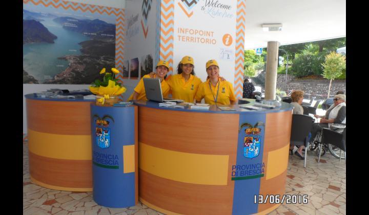 Inaugurazione Infopoint di Sulzano - Foto 1