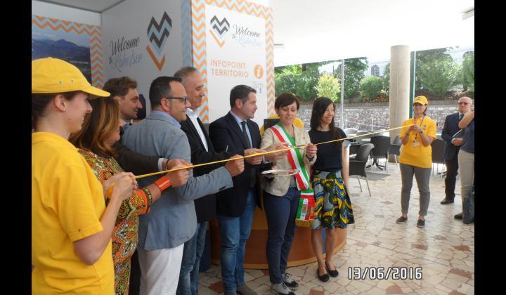 Inaugurazione Infopoint di Sulzano - Foto 2