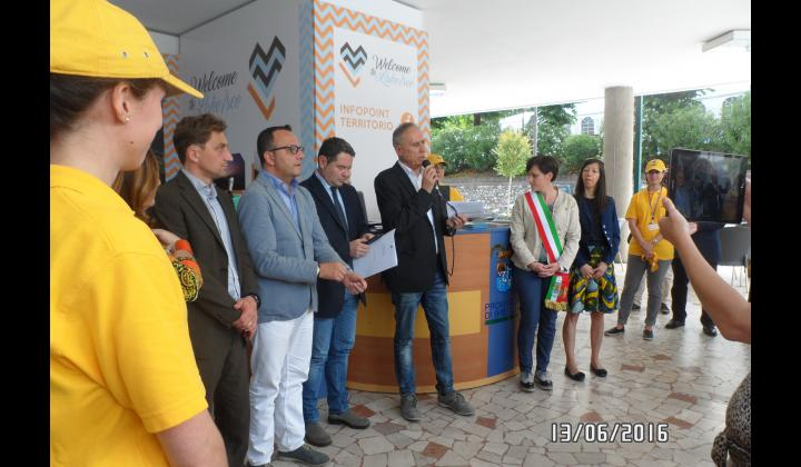 Inaugurazione Infopoint di Sulzano - Foto 3