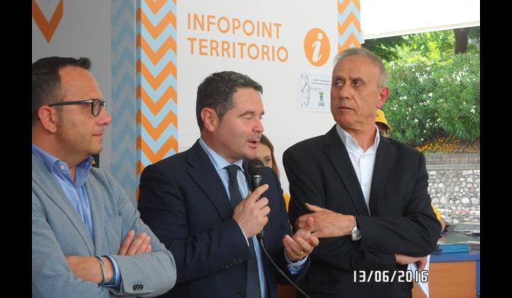 Inaugurazione Infopoint di Sulzano - Foto 5