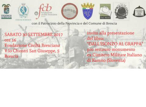 ''Dall'Isonzo al Grappa''