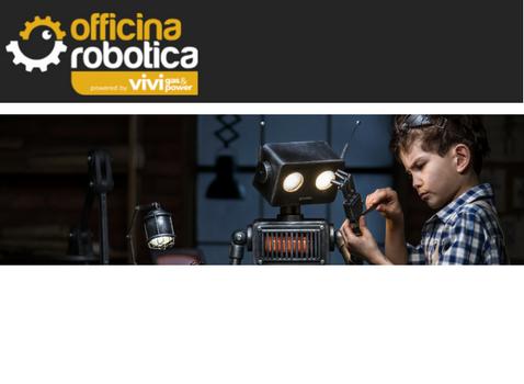 Vivigas Energy Lab e Officina Robotica