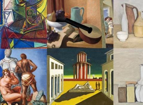 Picasso, De Chirico - Morandi