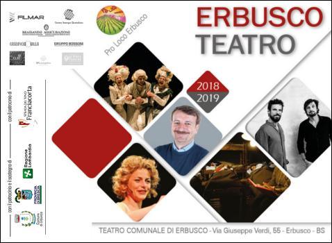 Erbusco Teatro 2018 - 2019