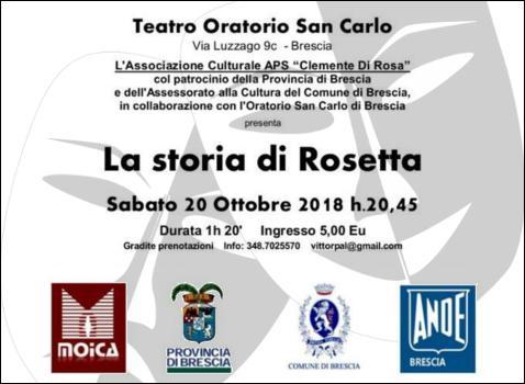 "Rassegna Teatrale ""Testimonianze"""