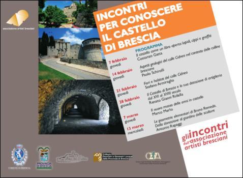Incontri per conoscere il Castello di Brescia