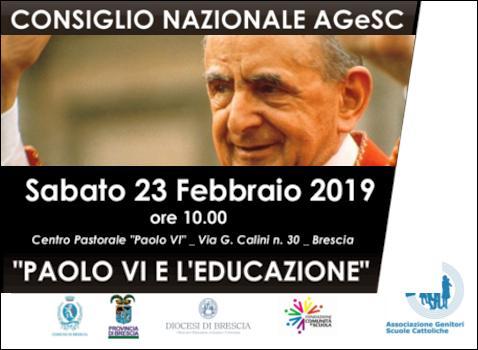 Paolo VI e l'educazione