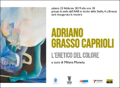Adriano Grasso Caprioli. L'eretico del colore