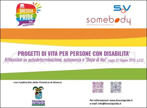 Progetti di vita per persone con disabilità